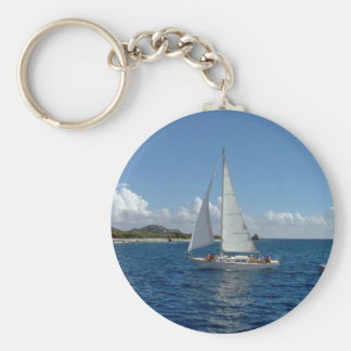 sailing lj key ring