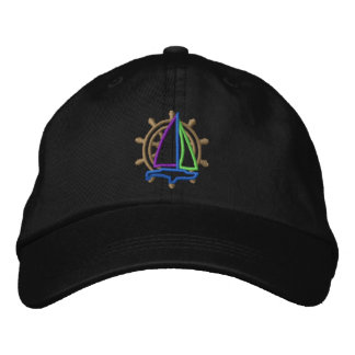 Sailing Logo Embroidered Hat