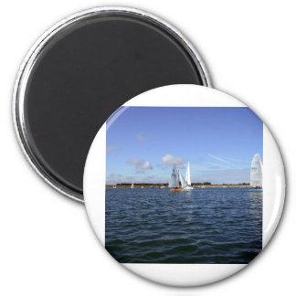 Sailing Refrigerator Magnet