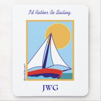Sailing. Mouse Pad