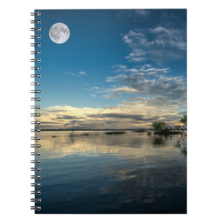 Sailing Near Iquitos Spiral Notebook