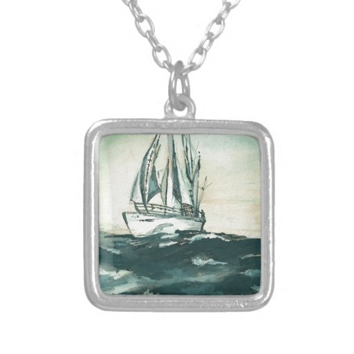 Sailing on High Seas Necklace