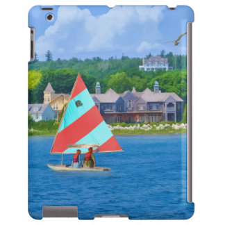 Sailing on Lake Huron Upper Michigan iPad Case