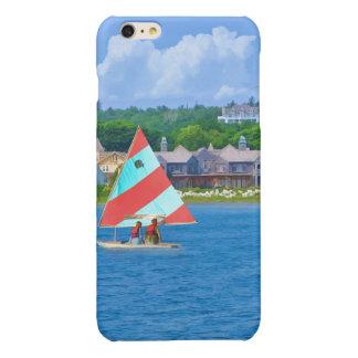 Sailing on Lake Huron Upper Michigan iPhone 6 Plus Case