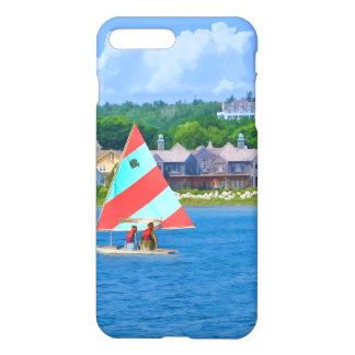 Sailing on Lake Huron Upper Michigan iPhone 7 Plus Case