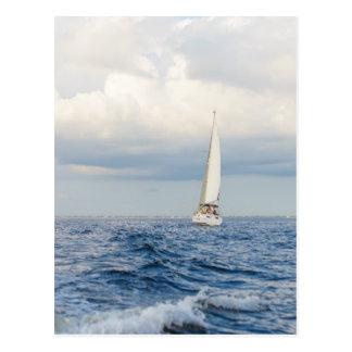 Sailing on Port Charlotte Harbor Postcards