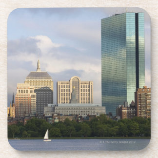 Sailing on the Charles River in Boston, Beverage Coaster