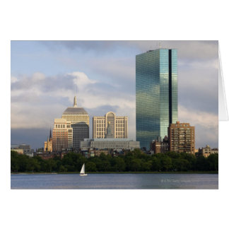 Sailing on the Charles River in Boston, Card