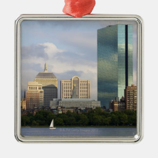 Sailing on the Charles River in Boston, Christmas Ornament