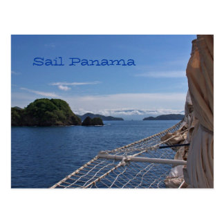 Sailing Panama Post Card