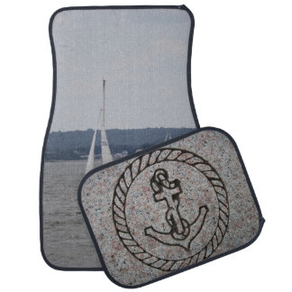 Sailing Personalized Car Mats (set of 4)