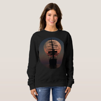 Sailing Pirate Moon Sweatshirt