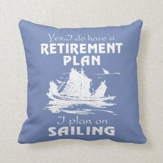 SAILING PLAN CUSHION