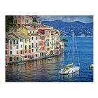 Sailing Portofino and the Italian Riviera Postcard