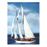 Sailing Post Card