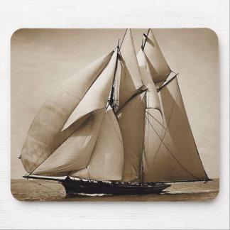 Sailing Sailing Sailing Mouse Mat