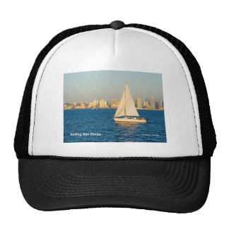 Sailing San Diego California Products Hat