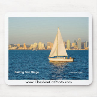 Sailing San Diego California Products Mouse Pad
