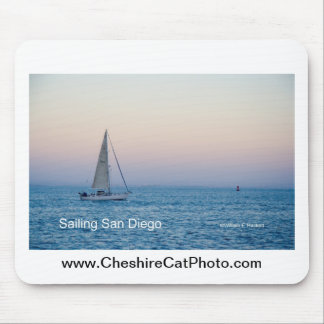 Sailing San Diego California Products Mousepads