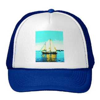 sailing schooner hat