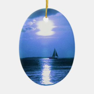 Sailing Ship Holiday Christmas Ornament