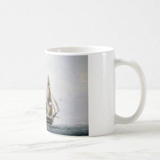 Sailing Ship Coffee Mugs