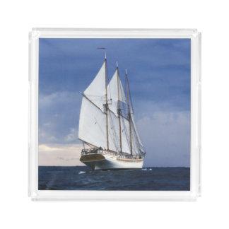 Sailing Ship On The Baltic Sea Acrylic Tray
