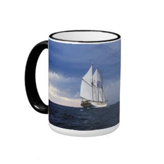 Sailing Ship On The Baltic Sea Ringer Mug