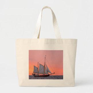 Sailing ship on the Hanse Sail in Rostock Jumbo Tote Bag