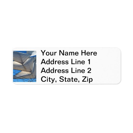 Sailing Ship Sails Address Labels