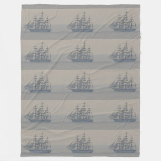 Sailing Ships Nautical Dad Gifts CricketDiane Fleece Blanket