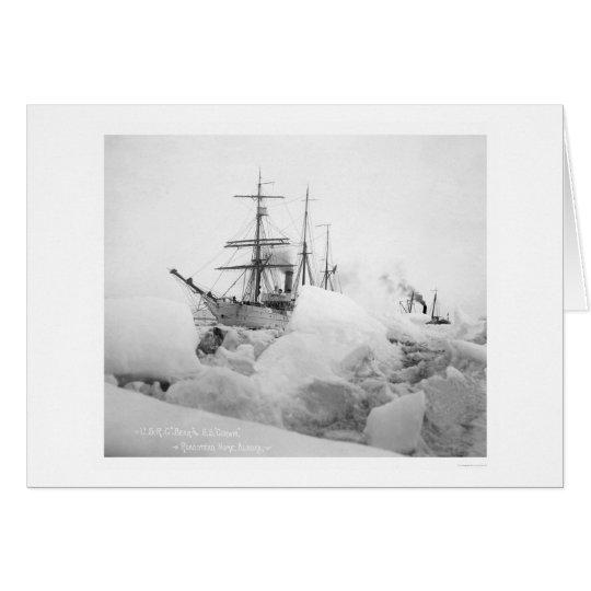 Sailing Ships Nome, Alaska 1904 Card