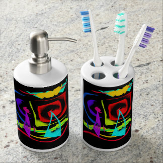 Sailing ⛵️ soap dispenser and toothbrush holder