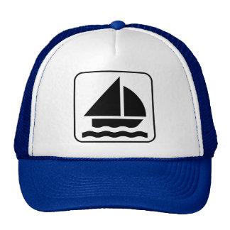 Sailing Symbol Hat