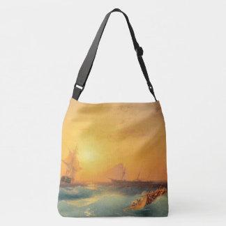 Sailing Tall Ships Ocean Waves Seas Tote Bag