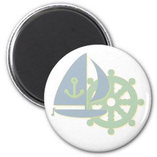 Sailing Team Magnet