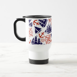 Sailing the Seas Stainless Steel Travel Mug