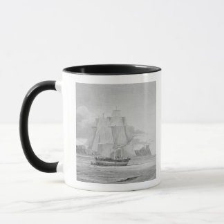 Sailing through young ice, September 1824, from 'J Mug