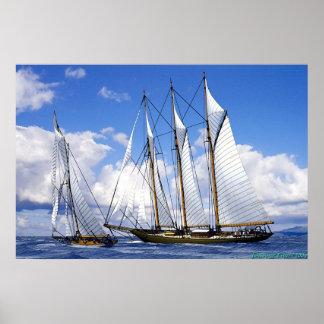 sailing together poster