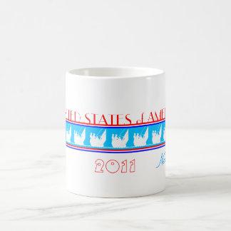 SAILING - UNITED STATES of AMERICA Coffee Mug