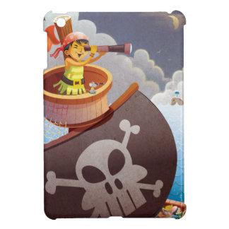Sailing with Pirates iPad Mini Cover