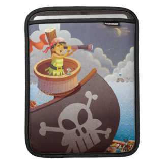 Sailing with Pirates iPad Sleeve