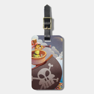 Sailing with Pirates Luggage Tag
