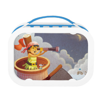 Sailing with Pirates Lunch Box