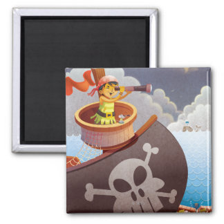 Sailing with Pirates Magnet