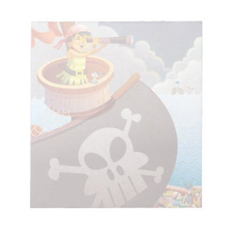 Sailing with Pirates Notepad