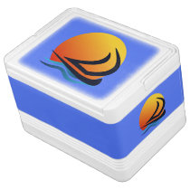 Sailing Yacht at Sunset Igloo Can Coolers Igloo Cool Box