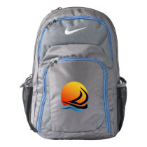 Sailing Yacht at Sunset Nike Performance Backpack