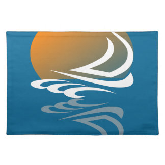 Sailing Yacht in the Sun Placemat