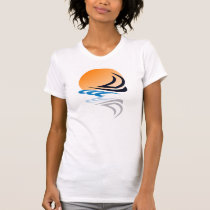 Sailing Yacht in the Sun T-Shirt